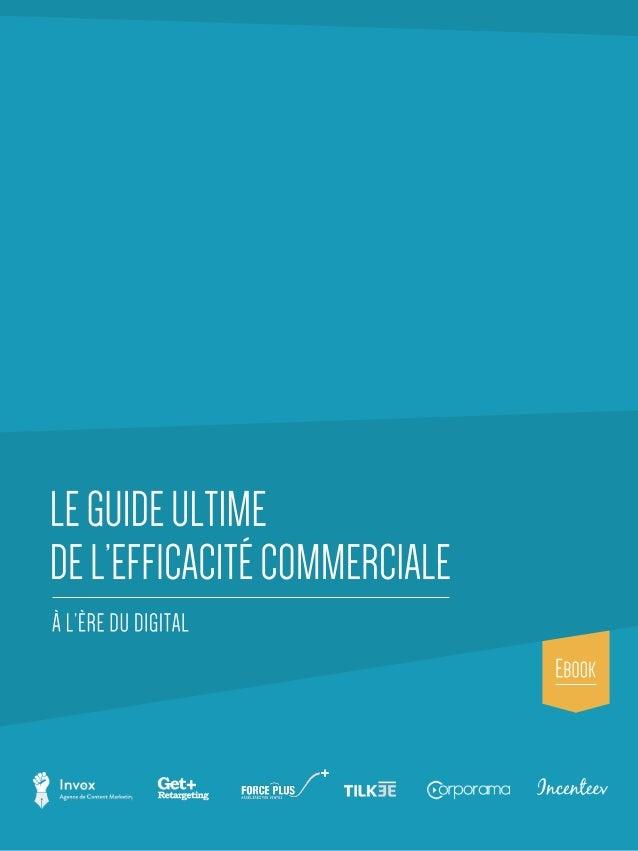 POURQUOI LA PROSPECTION COMMERCIALE EST BOUSCULÉE PAR INTERNET... LES GRANDES TENDANCES DE L'INNOVATION COMMERCIALE  Des ...