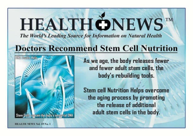 from Hector adult stem cell nutrition