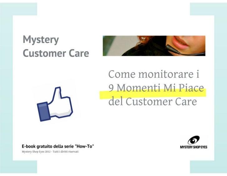 Mystery Customer Care [Ebook]
