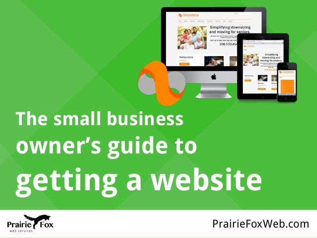PrairieFoxWeb.com The small business owner's guide to getting a website