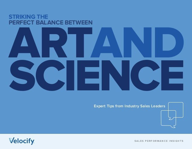 Ebook: Striking the Perfect Balance between Art and Science