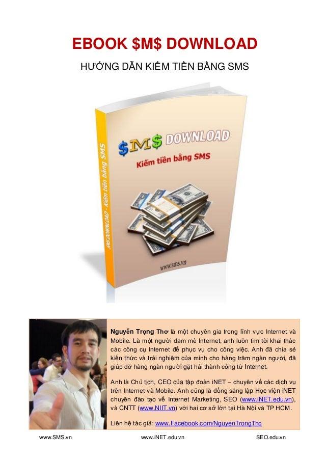 Ebook Kiếm tiền bằng SMS - iNET