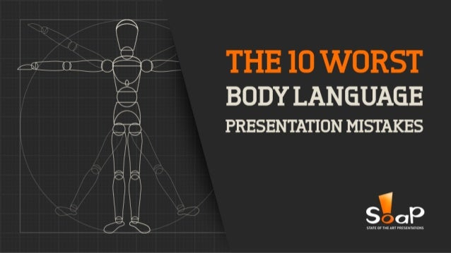 Several studies on body language show that from the point of view of an audience the single most impactful factor is the n...