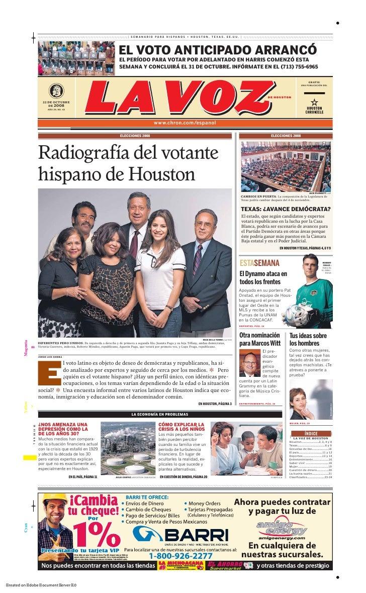 Radiografía del Votante Hispano