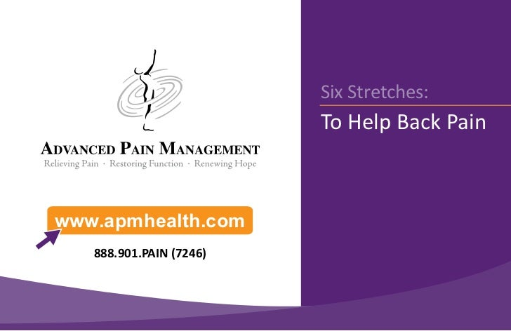 6 Stretches To Help Back Pain