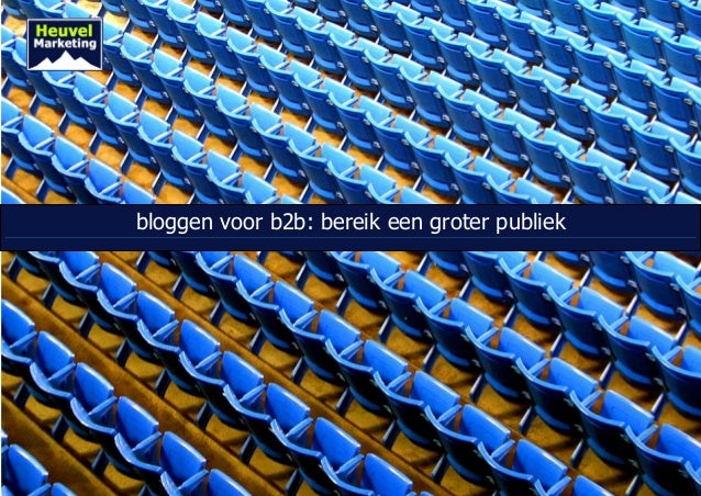 bloggen voor b2b: bereik een groter publiek