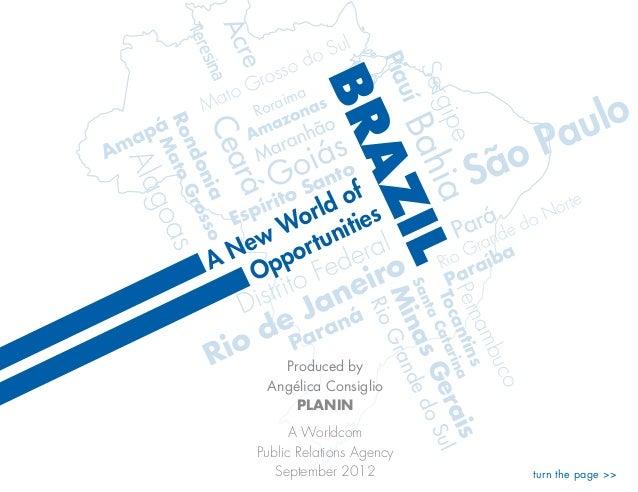 Brazil: a new world of opportunities