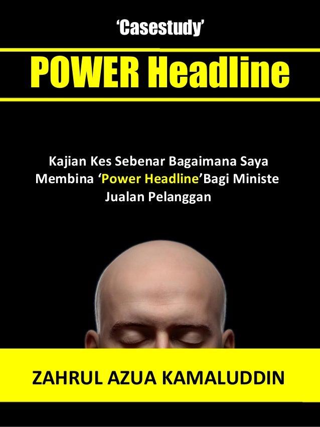 Ebook Case Study Power Headline