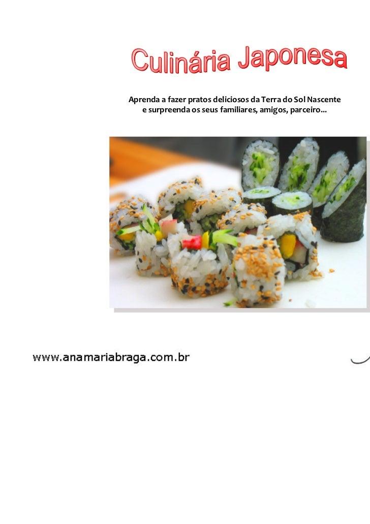 Ebook culinaria japonesa