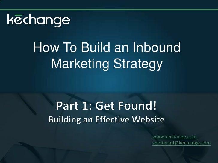Internet Marketing: How to Get Found Online!Pptx