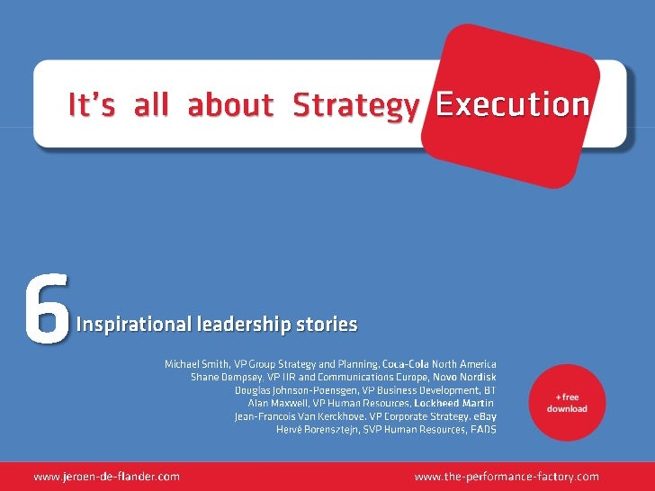 Ebook: It's All About Strategy Execution