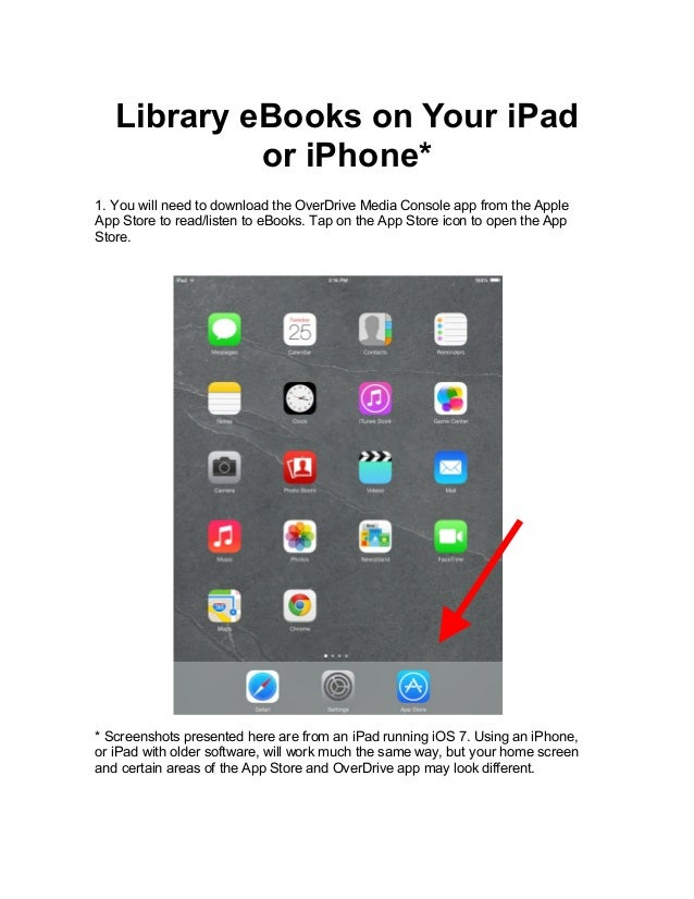 eBooks on your iPad or iPhone
