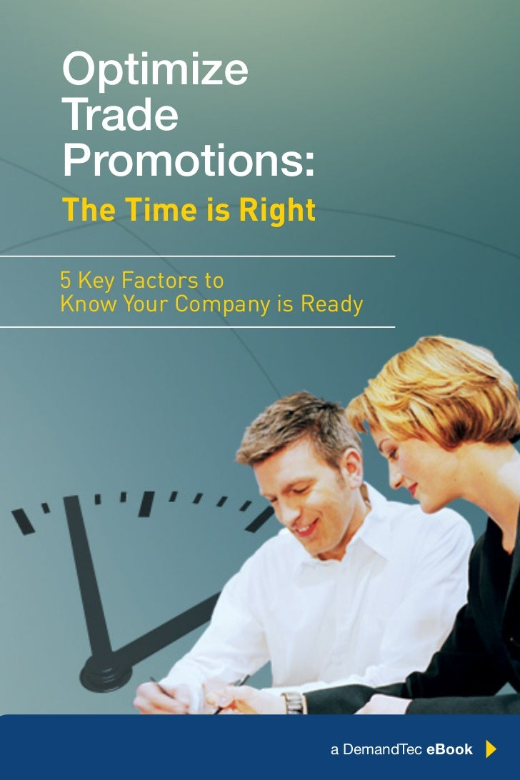 DemandTec eBook: Optimize Trade Promotions