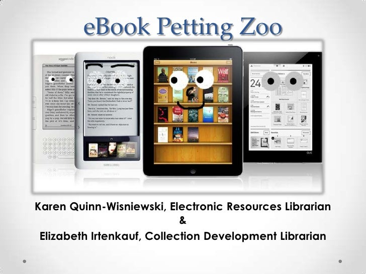 E book petting zoo