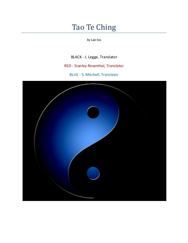 (E book philosophy)   [lao tzu] the tao-te-ching (three translations)
