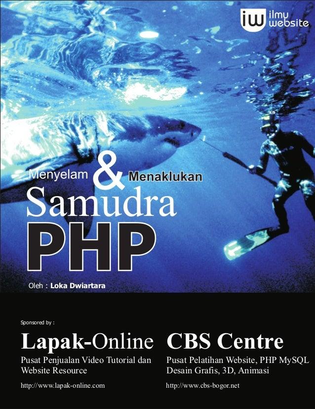 Ebook PHP - menyelam dan menaklukan samudra php
