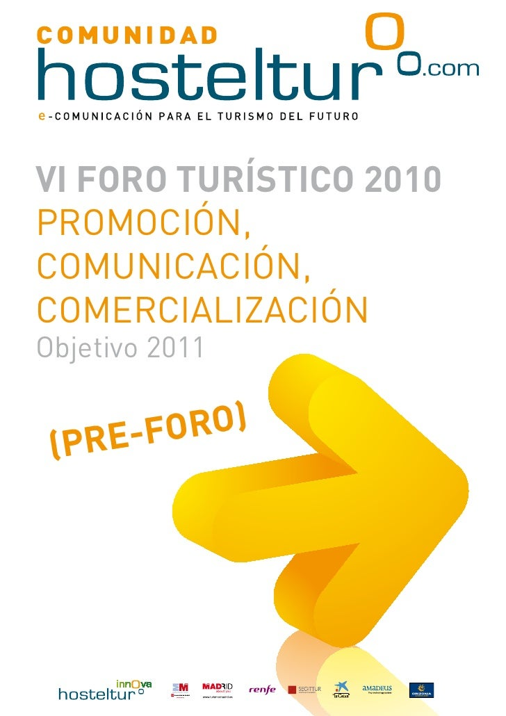 Ebook preforo hosteltur 2010