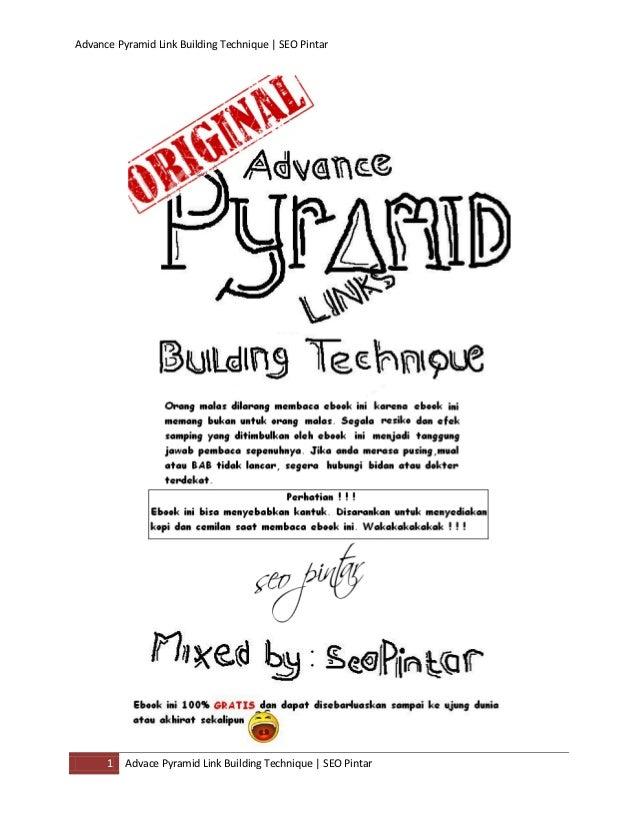 Advance Pyramid Link Building Technique | SEO Pintar1 Advace Pyramid Link Building Technique | SEO Pintar