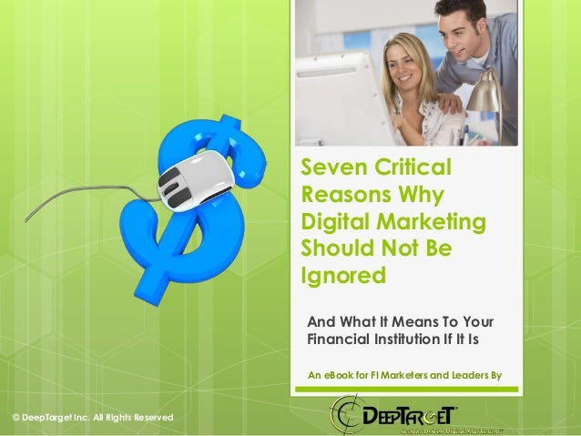 E Book   Seven Critical Reasons Why Digital Marketing Should Not Be Ignored