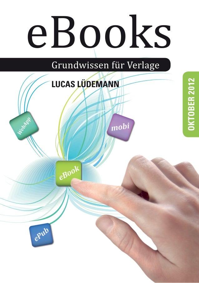 eBooks. Grundwissen für Verlage