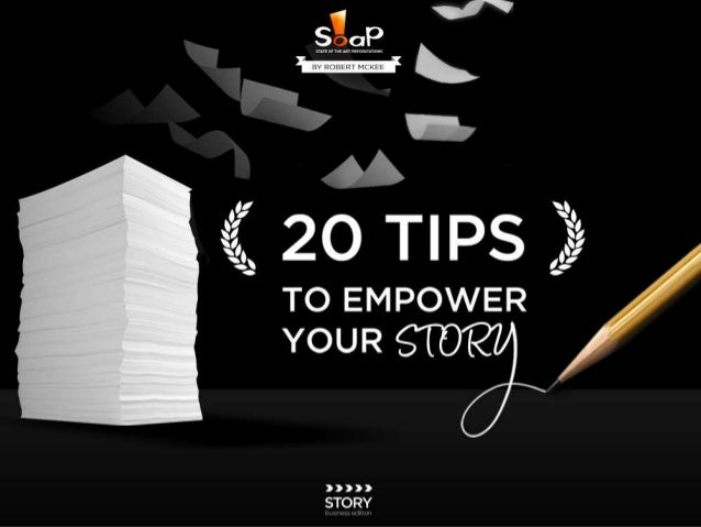 20 Tips to Empower Your Presentation Story by SOAP