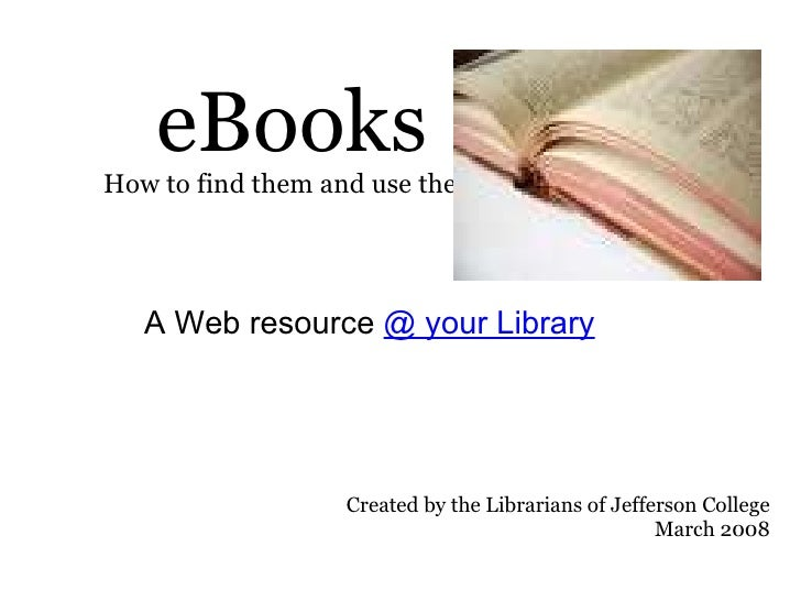 EBooks Your Library