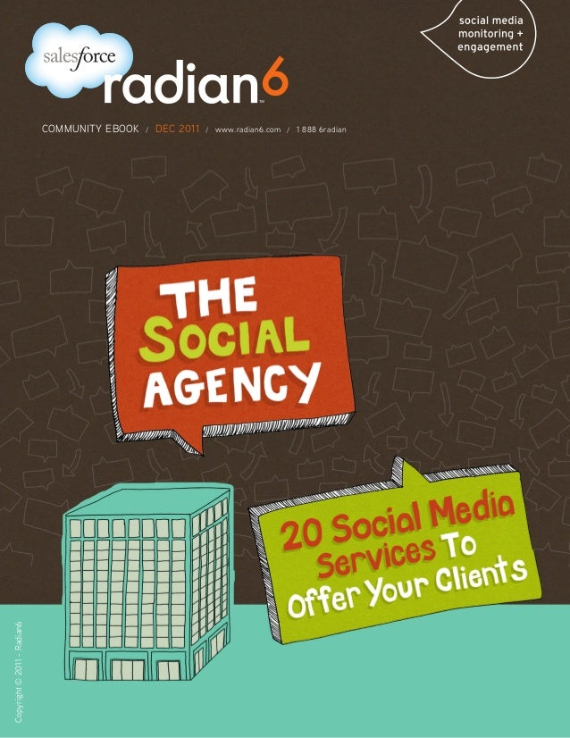 The Social Agency: 20 Social Media Services to Offer Your Clients