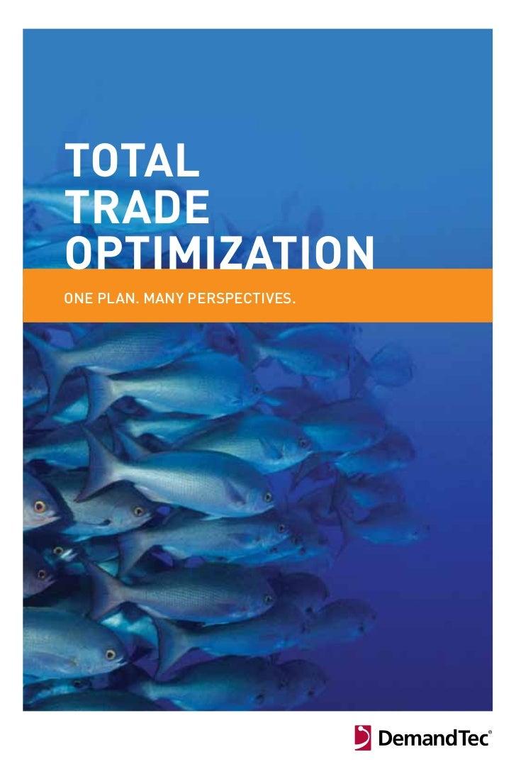 DemandTec eBook: Total Trade Optimization