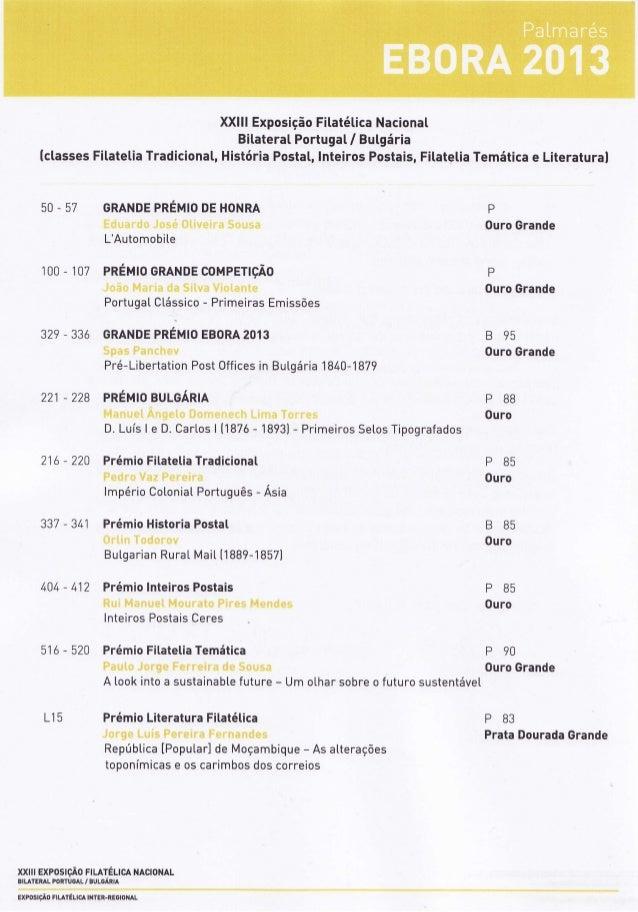 XXIIIExposiçãoFitatéticaNacionaI BitateratPortuga[/ Butgária ÍclassesFitatetiaTradicional,HistóriaPosta[,InteirosPostais,F...