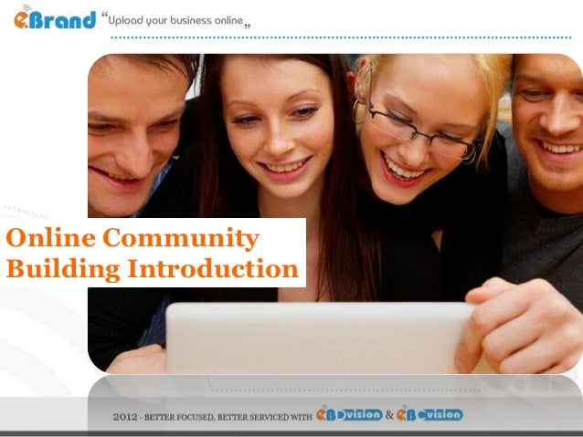 Online CommunityBuilding Introduction
