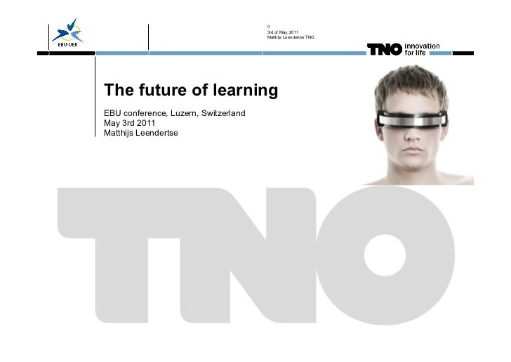 Future of Learning at EBU Conference 2011