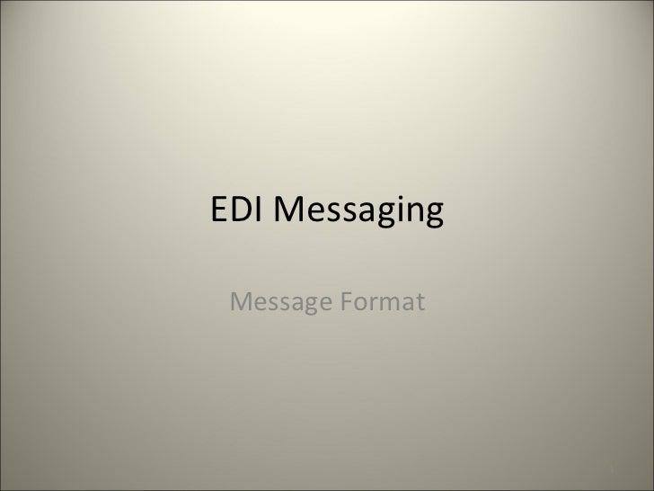 E business edi_messaging