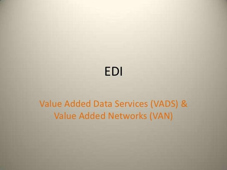 E business edi_vads