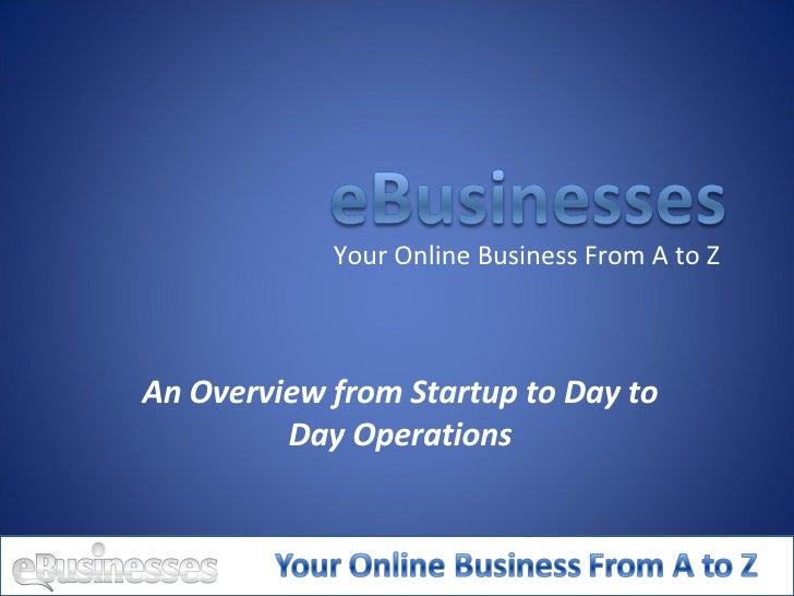 E Businesses