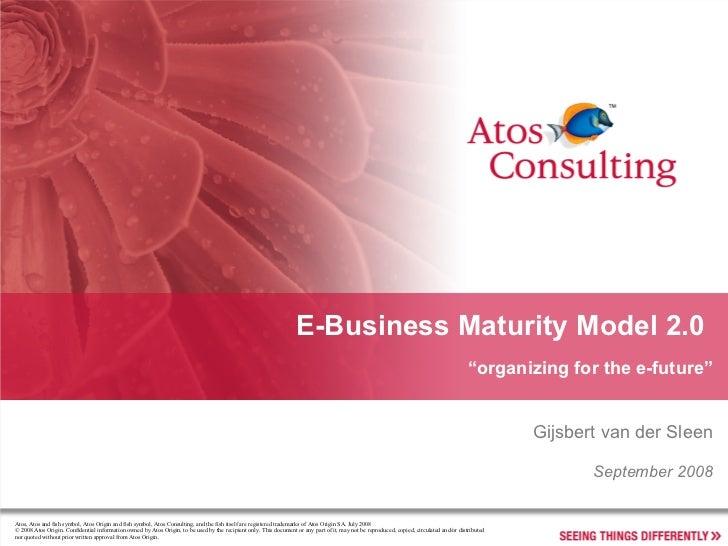 E Business Maturity Model 2.0 Ac