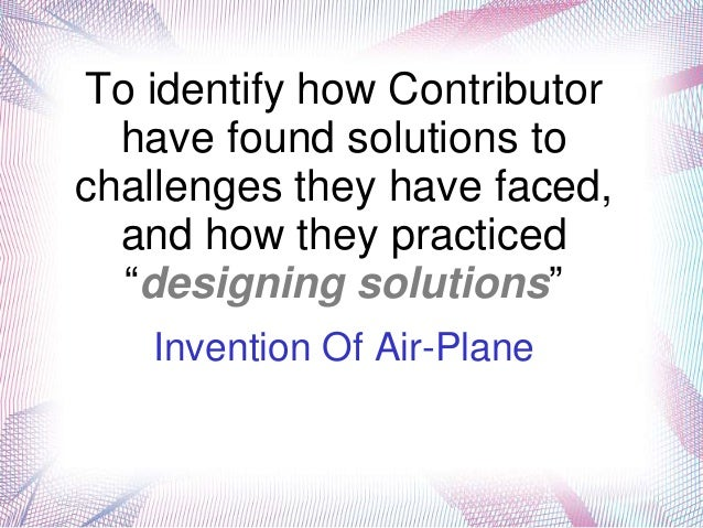 Invention of airplane(Wright Brothers)