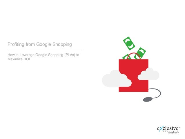 How To Profit From Google Shopping