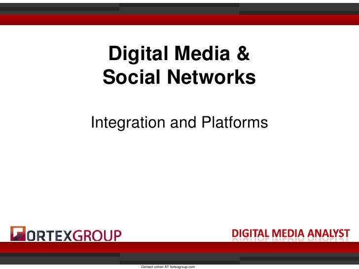 Digital and Social Media Presentation