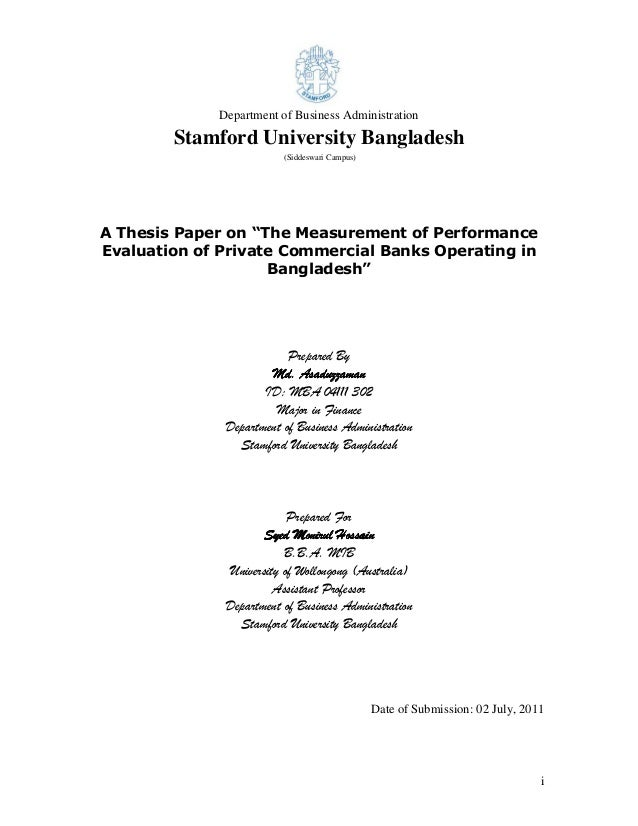 business management thesis