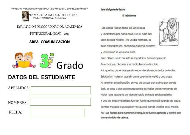 """""""AÑODELA DIVERSIFICACIÓNPRODUCTIVA Y DEL FORTALECIMIENTODELA EDUCACIÓN"""" IEP """"INMACULADA CONCEPCION"""" VILLA HUANGALÁ- SULLAN..."""