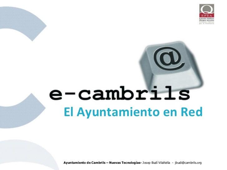 eCambrils - Ayuntamiento en Red