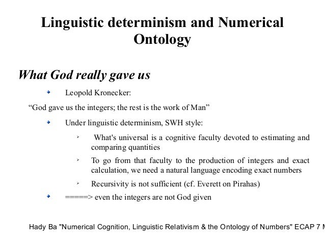 linguistic relativity essay