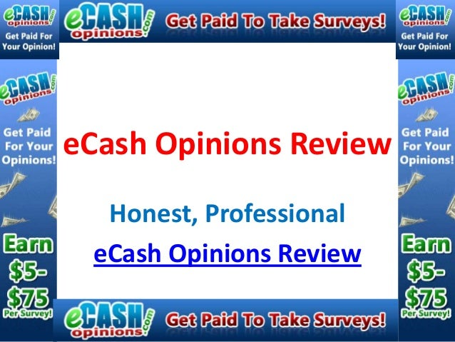 eCash Opinions Review  Honest, Professional eCash Opinions Review