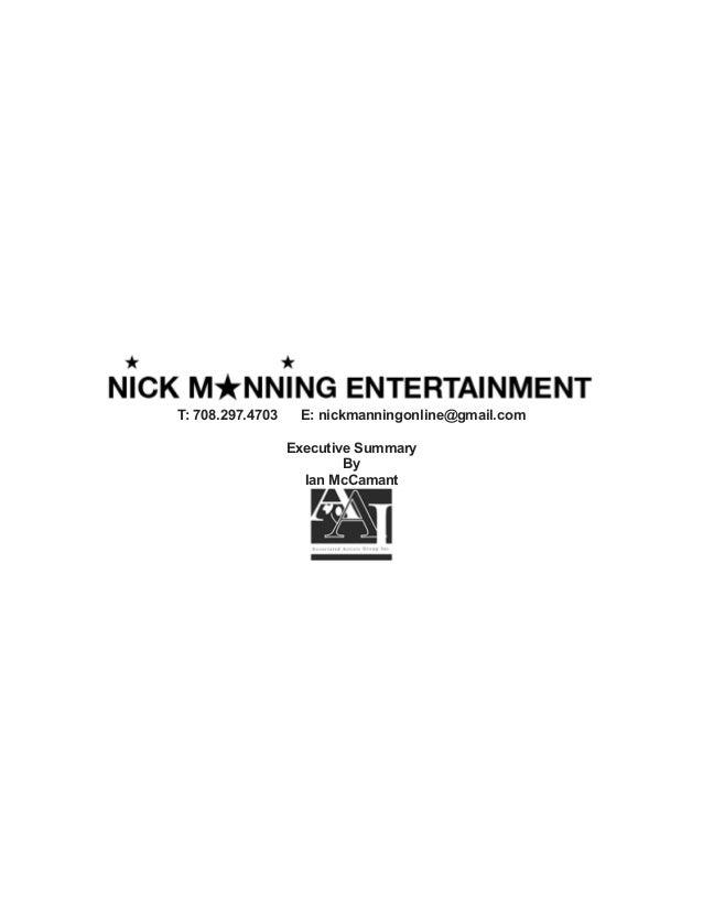 NME Executive Summary Final