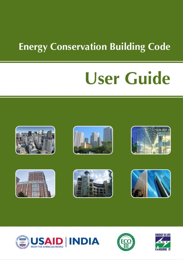 User Guide Energy Conservation Building Code