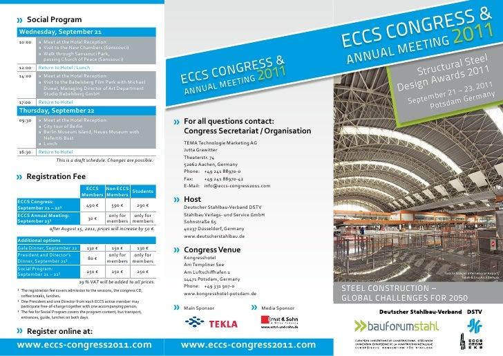 Eccs congress 2011 program