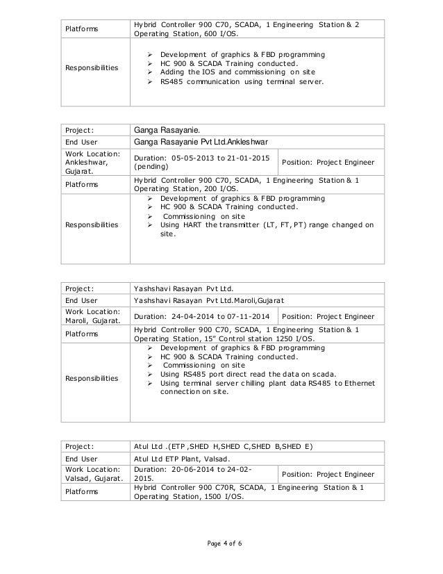 Communication engineer resume