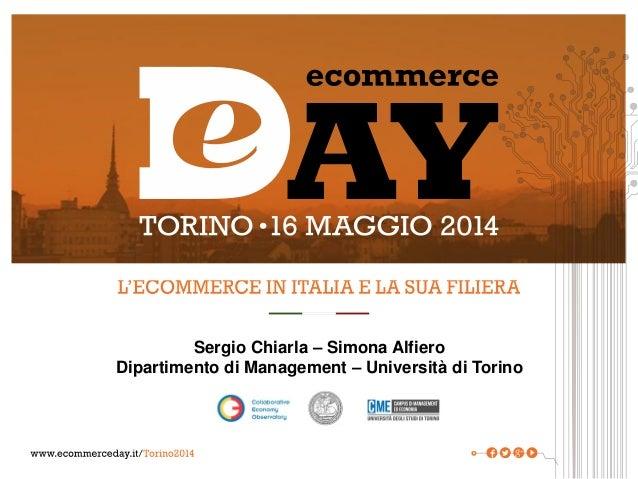 E-Commerce Day 2014 Torino - I numeri dell'e-commerce