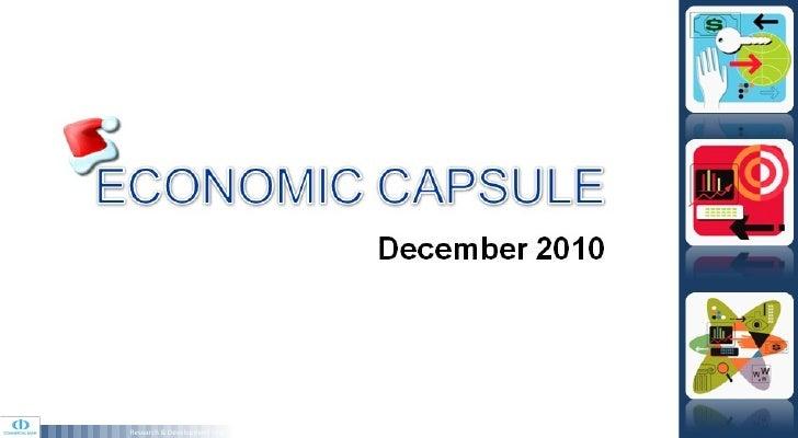 Economic Capsule - December 2010