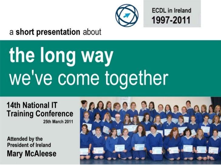 ECDL in Ireland 1997-2011